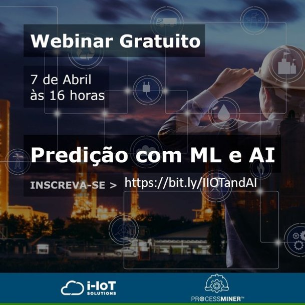 Predição com Machine Learning e Artificial Intelligence é tema de webinar
